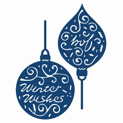 Tattered Lace Greeting Baubles (ACD114)