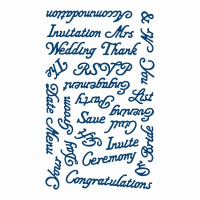 Tattered Lace Wedding Words (ACD235)