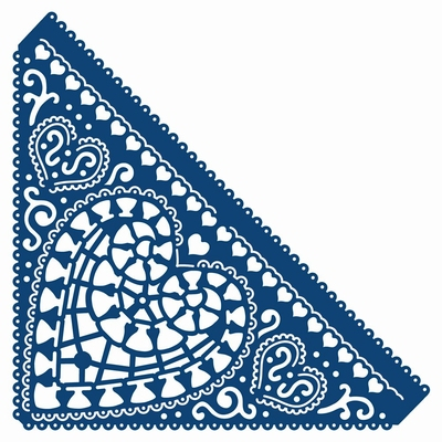 Tattered Lace Chantilly Heart (ACD175)
