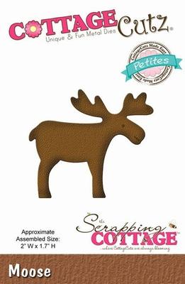 CottageCutz Moose (Petites) (CCP-051)