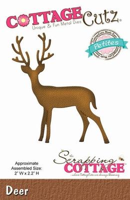 CottageCutz Deer (Petites) (CCP-050)