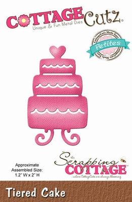 CottageCutz Tiered Cake (Petites) (CCP-033)