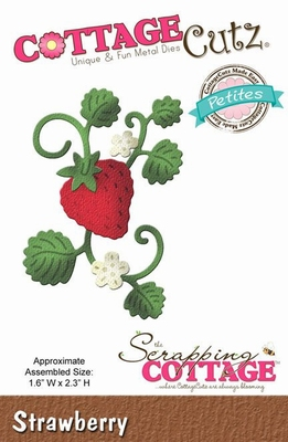 CottageCutz Strawberry (Petites) (CCP-029)