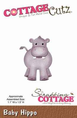 CottageCutz Baby Hippo (CC-006)