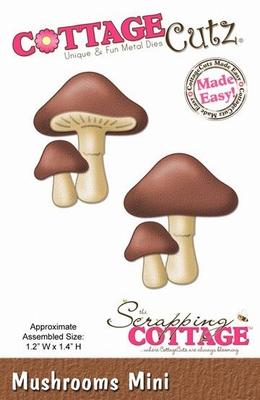 CottageCutz Mushrooms Mini (CC-MINI-147)