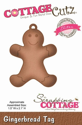 CottageCutz Gingerbread Tag (Elites) (CCE-203)