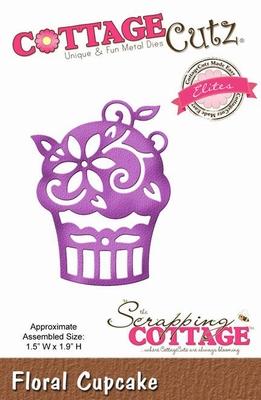 CottageCutz Floral Cupcake (Elites) (CCE-088)