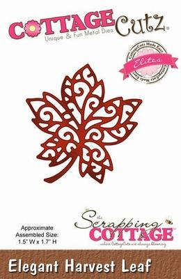 CottageCutz Elegant Harvest Leaf (Elites) (CCE-065)