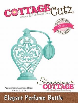 CottageCutz Elegant Perfume Bottle (Elites) (CCE-132)