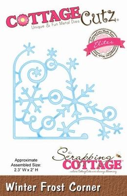 CottageCutz Winter Frost Corner (Elites) (CCE-043)