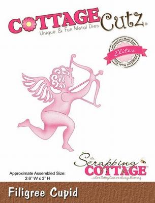 CottageCutz Filigree Cupid (Elites) (CCE-087)