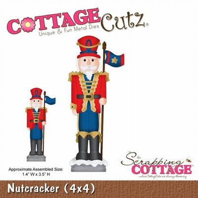 CottageCutz Nutcracker (CC4x4-555)