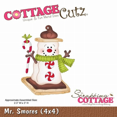 CottageCutz Mr. Smores (CC4x4-553)
