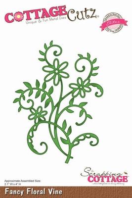 CottageCutz Fancy Floral Vine (Elites) (CCE-024)