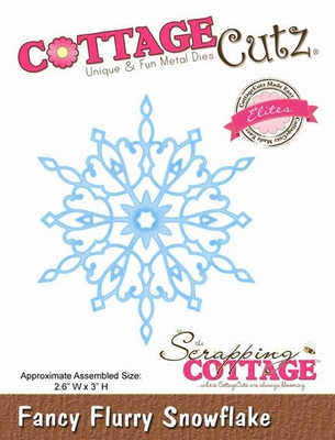 CottageCutz Fancy Flurry Snowflake (Elites) (CCE-037)