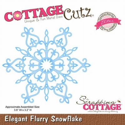 CottageCutz Elegant Flurry Snowflake (Elites) (CCE-034)