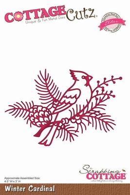 CottageCutz Winter Cardinal (Elites) (CCE-041)