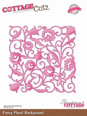CottageCutz Fancy Floral Background (Elites) (CCE-017)
