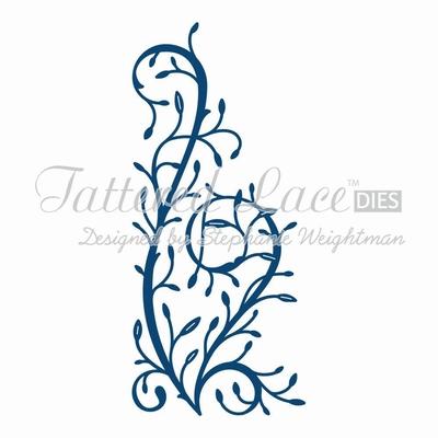 Tattered Lace Flourishing Vine (ACD606)