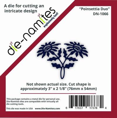 Die-Namites Poinsettia Duo (DN-1066)