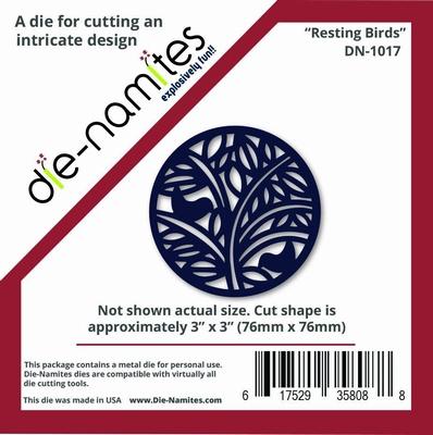 Die-Namites Resting Birds (DN-1017)