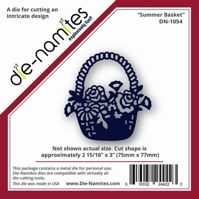 Die-Namites Summer Basket (DN-1054)