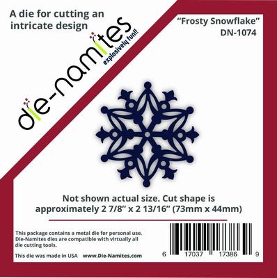 Die-Namites Frosty Snowflake (DN-1074)
