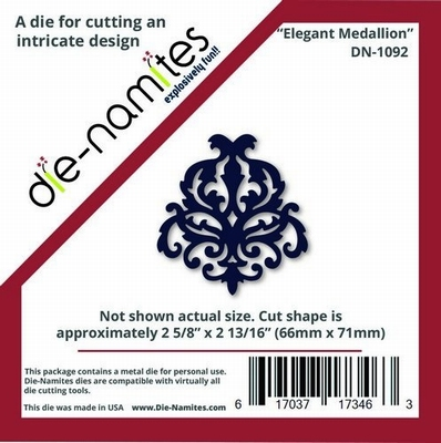 Die-Namites Elegant Medallion (DN-1092)