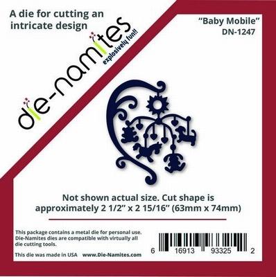 Die-Namites Baby Mobile (DN-1247)