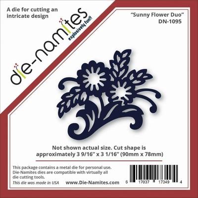 Die-Namites Sunny Flower Duo (DN-1095)