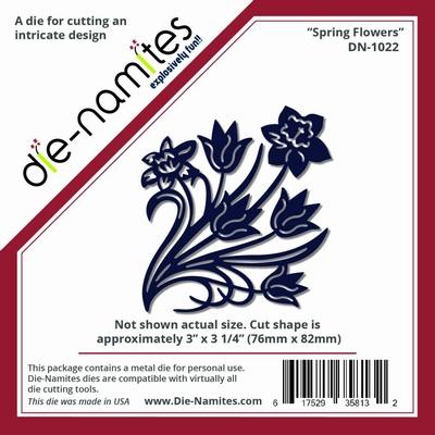 Die-Namites Spring Flowers (DN-1022)