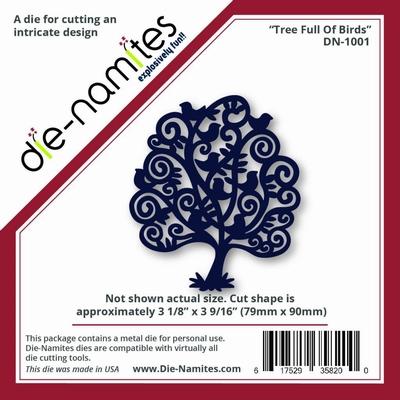 Die-Namites Tree Full Of Birds (DN-1001)