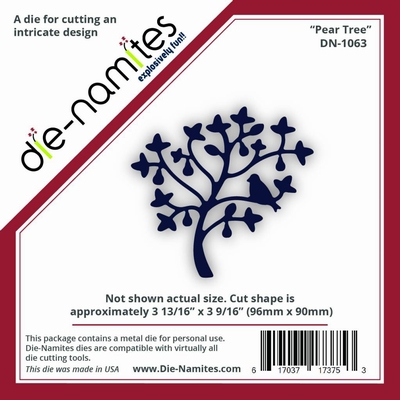 Die-Namites Pear Tree (DN-1063)
