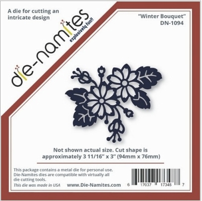 Die-Namites Winter Bouquet (DN-1094)