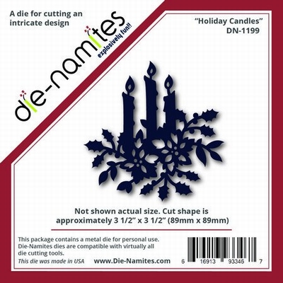 Die-Namites Holiday Candles (DN-1199)