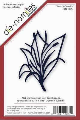 Die-Namites Grassy Cattails (DN-1045)