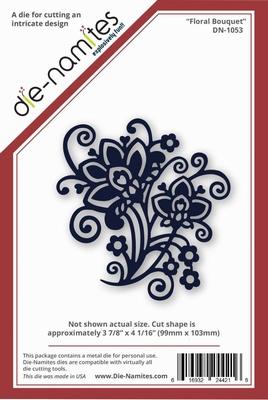 Die-Namites Floral Bouquet (DN-1053)