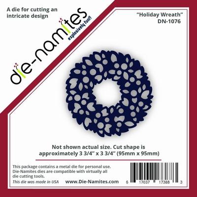 Die-Namites Holiday Wreath (DN-1076)