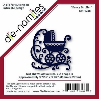 Die-Namites Fancy Stroller (DN-1255)