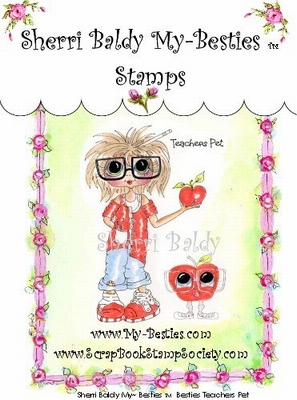 Teachers Pet Clear Rubber Stamp
