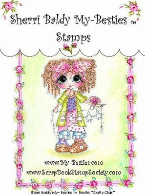 Crafty Clair Clear Rubber Stamp