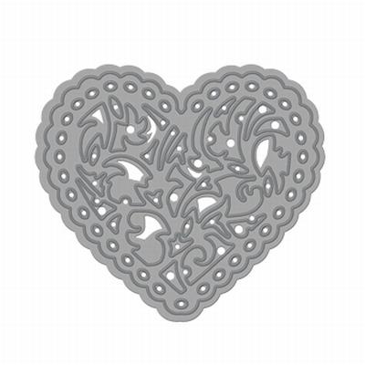 Rococo Delicate Heart