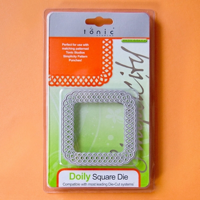 Tonic Square Die Doily