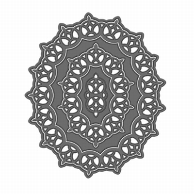 Tonic Simplicity Verso Baroque Ovale Mal, 5 stuks