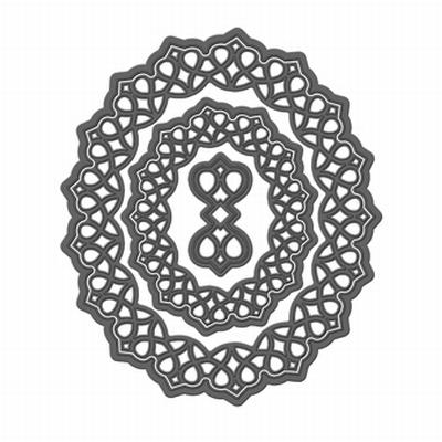 Tonic Simplicity Verso Mal, Ovaal, Delicate Lattice, 3 malle