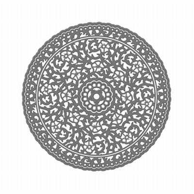 Tonic Verso Mal, Rose Circle, 4 stuks