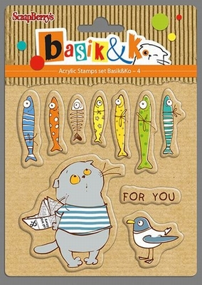 Set Of Clear Stamps 10,5x10,5 cm Basik For You