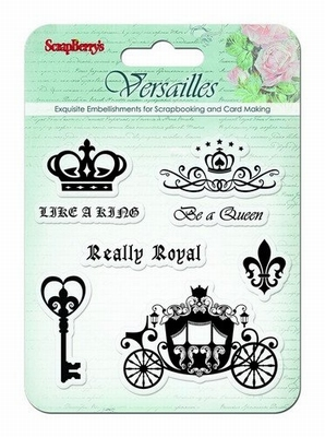 Set Of Clear Stamps 10,5 x 10,5 cm Versailles Like A King