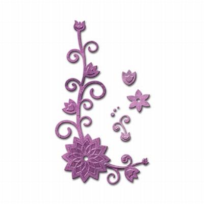 Spellbinders Die D-Lites S2-151 Floral Corner 2