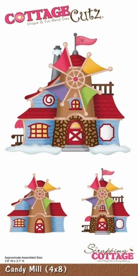Cottage CottageCutz Candy Mill (CC4x8-016)